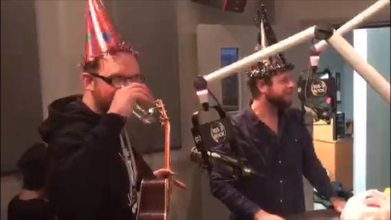 Mahoney Celebrates 18th Birthday In Studio