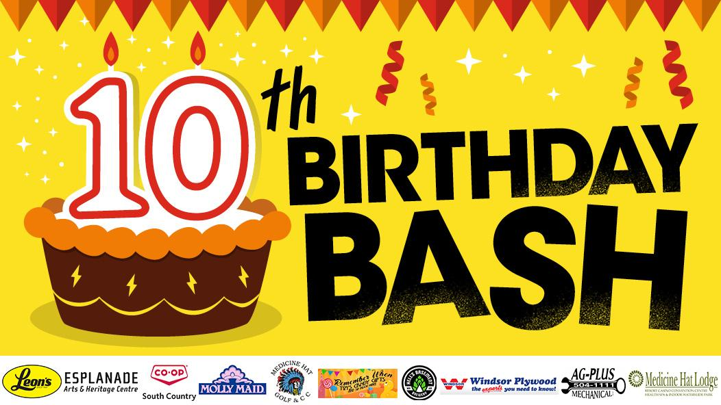 10th Birthday Bash