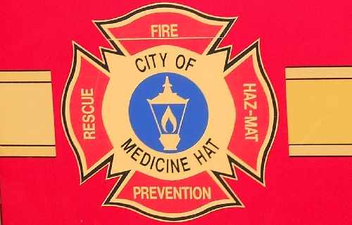 Medicine Hat Fire Department Crest