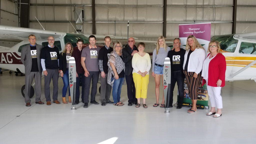 Dignataries announce South Alberta Flight Academy